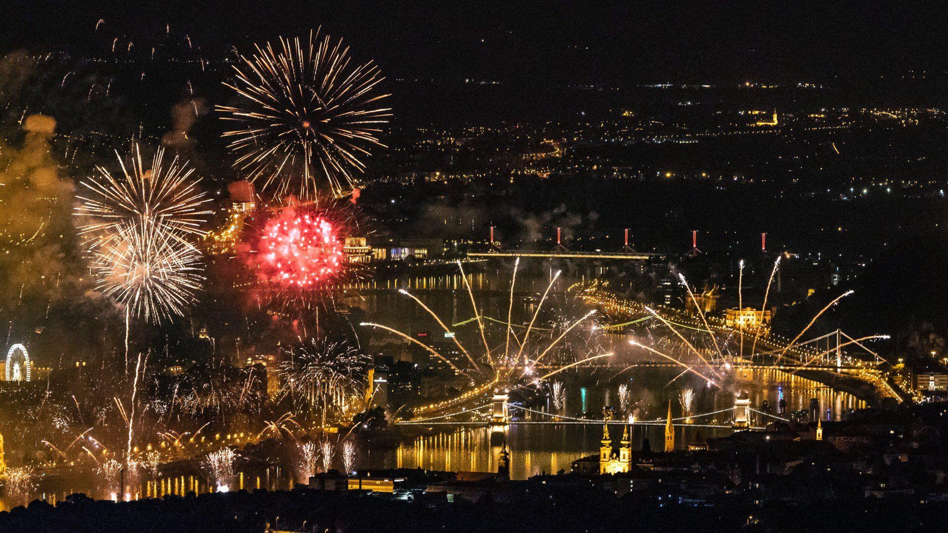tűzijáték budapest