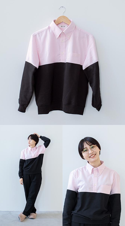 Női változat is van a hibrid ruhából (Fotó: Kickstarter/Whatever Inc)