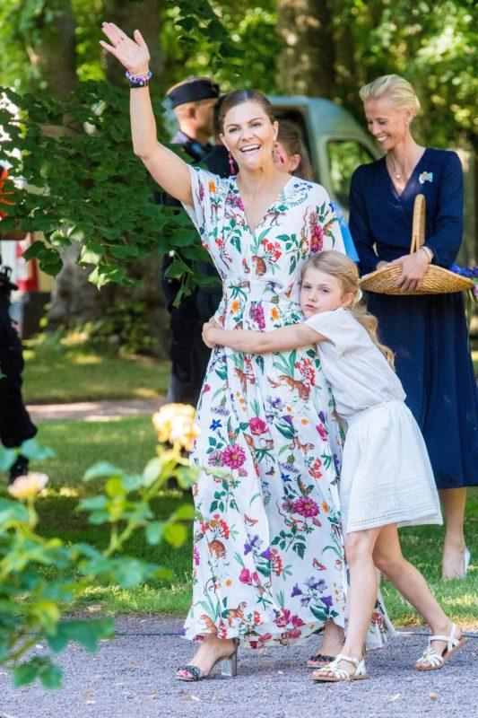 Viktória és lánya Esztella