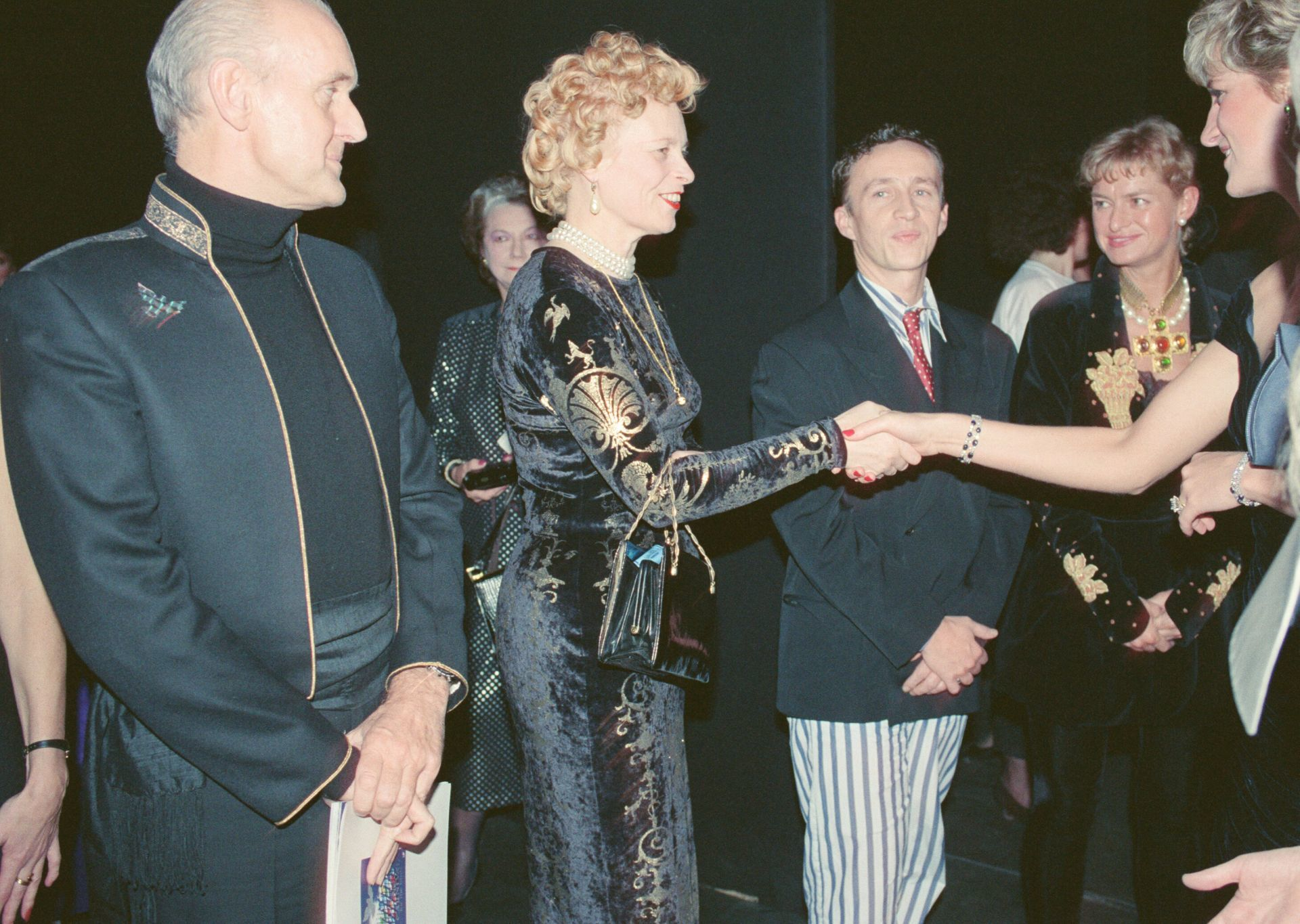 Diana hercegnő és Vivienne Westwood 1991-ben.