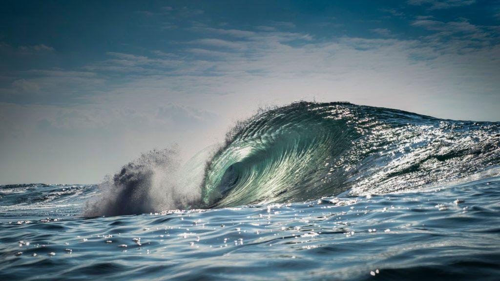Óriási hullámok a koreai digitális óriásplakáton