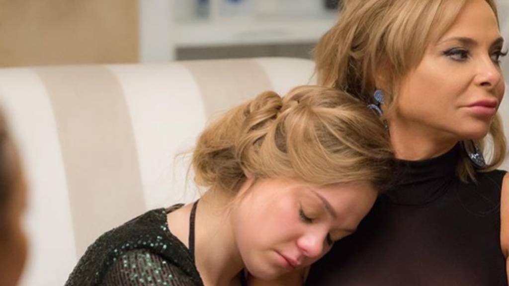 Yvonne Dederick és a lánya