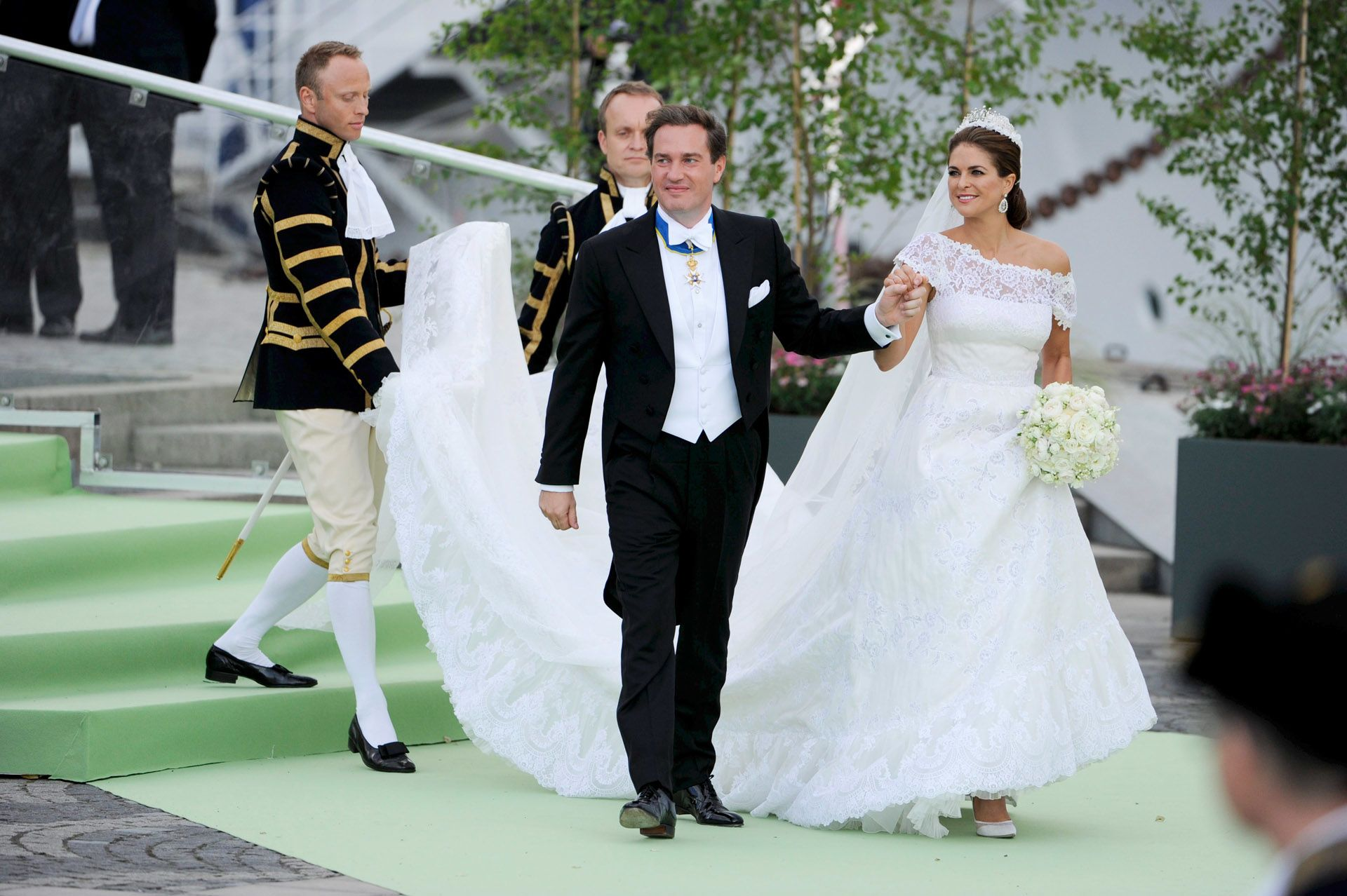 Magdolna hercegnő és Christopher O'Neill esküvője
