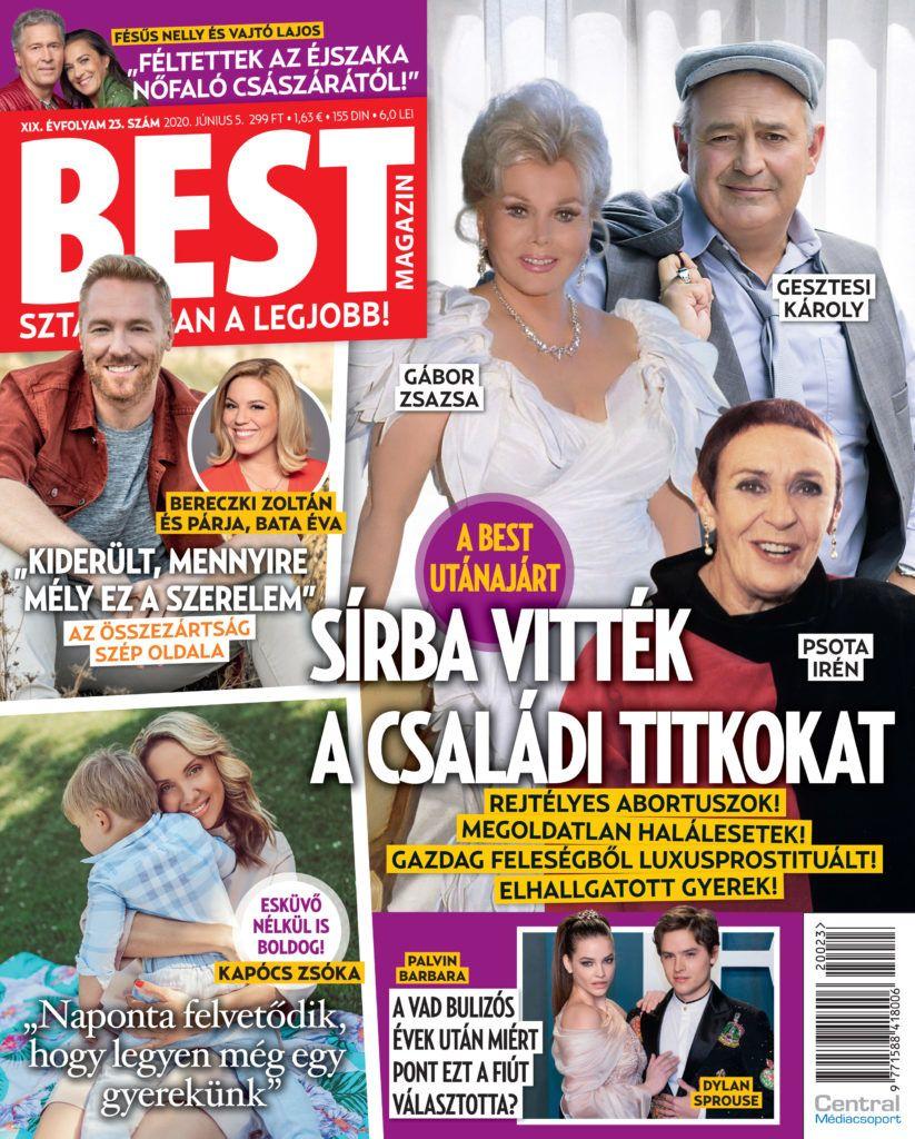 Bereczki Zoltán a Best magazinban mesélt kapcsolatáról