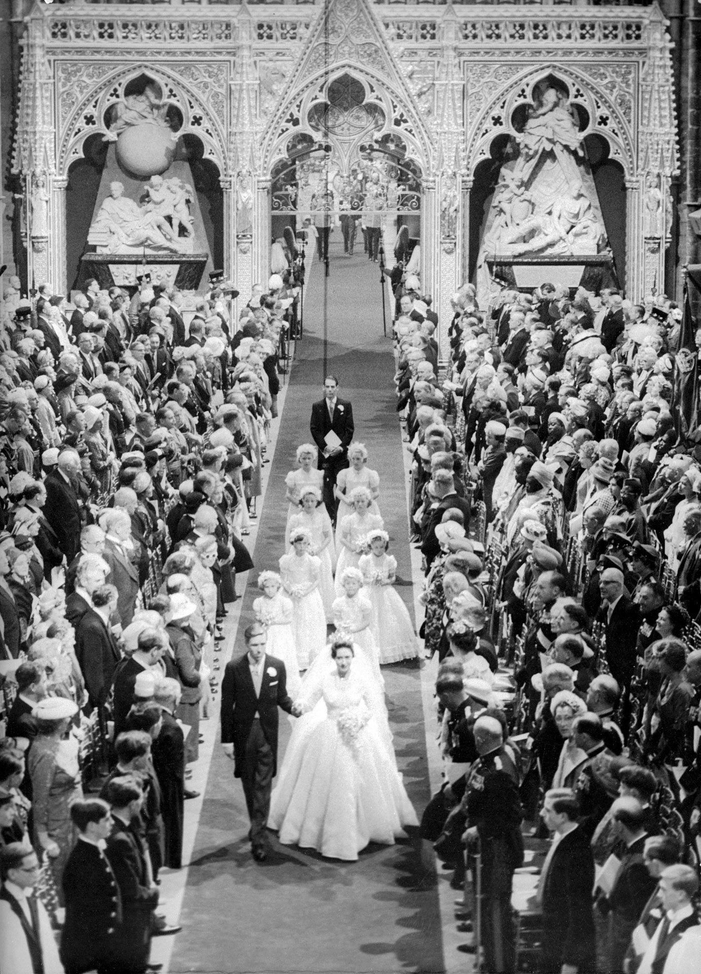 Margit hercegnő és Antony Armstrong-Jones esküvője