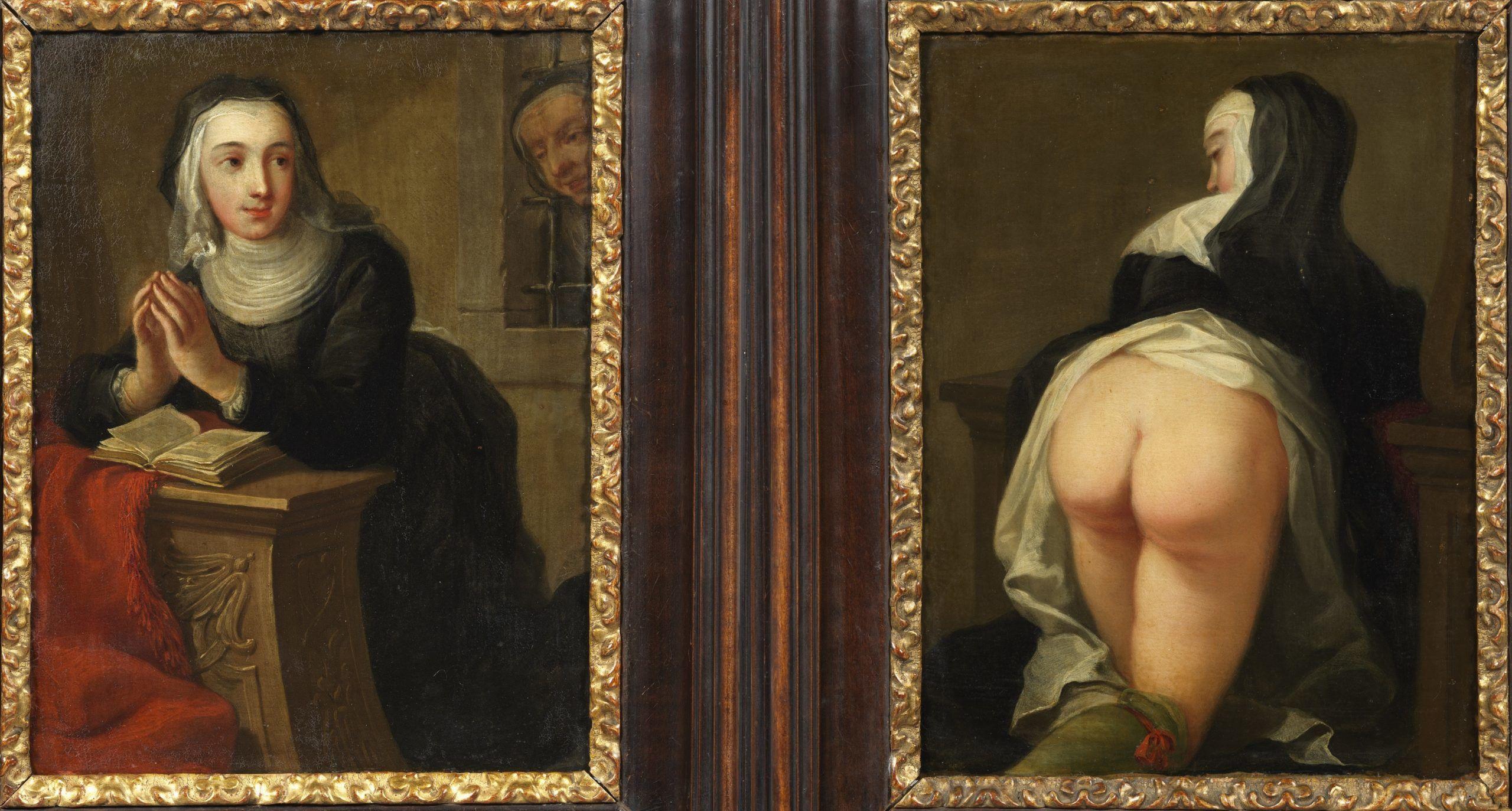 Martin van Meyten: Térdeplő apáca (1731)