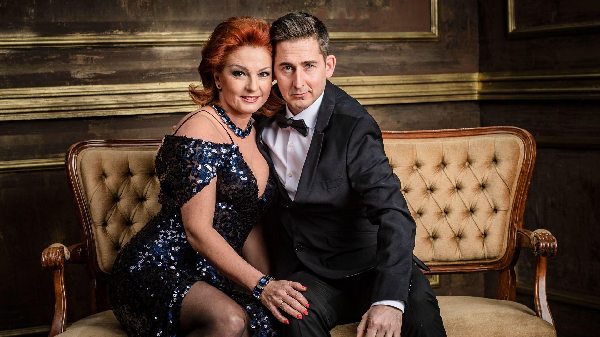 Keleti Andrea és férje Zoltán