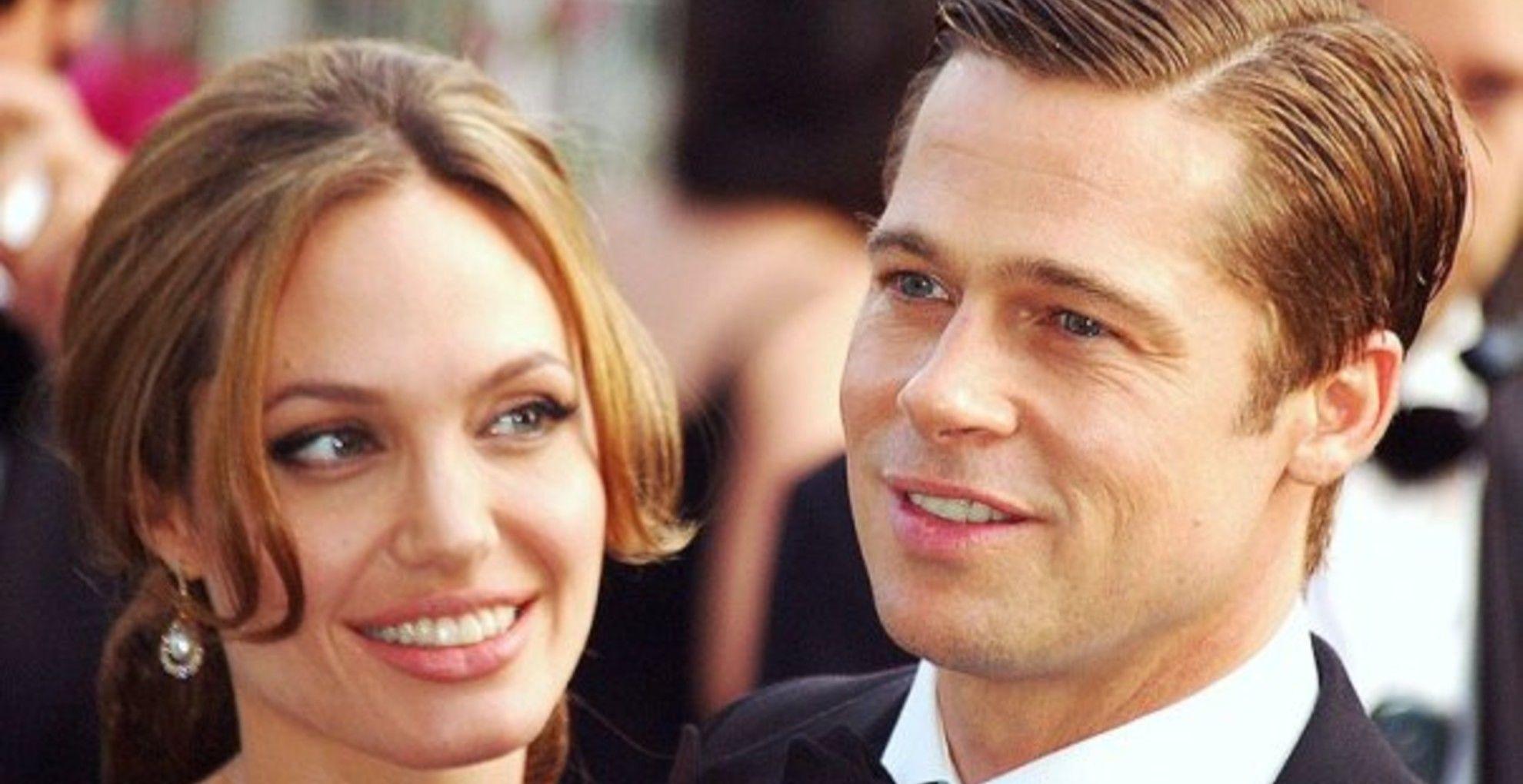 Angelina Jolie és Brad Pitt Cannes-ban.