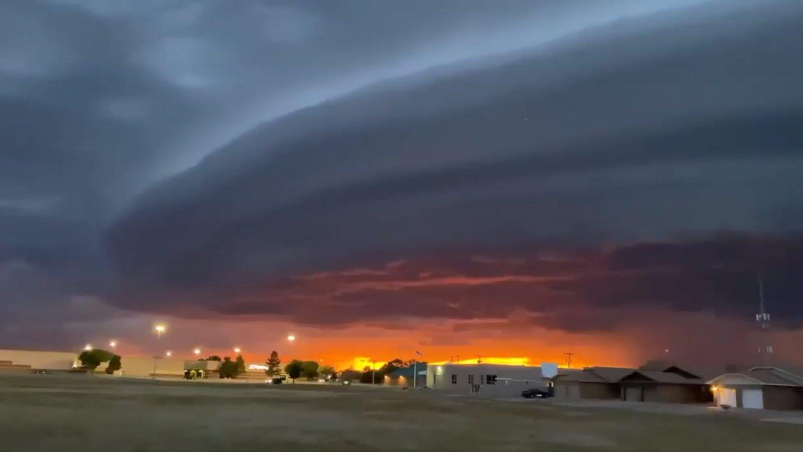anyahajó felhő új-mexikóban