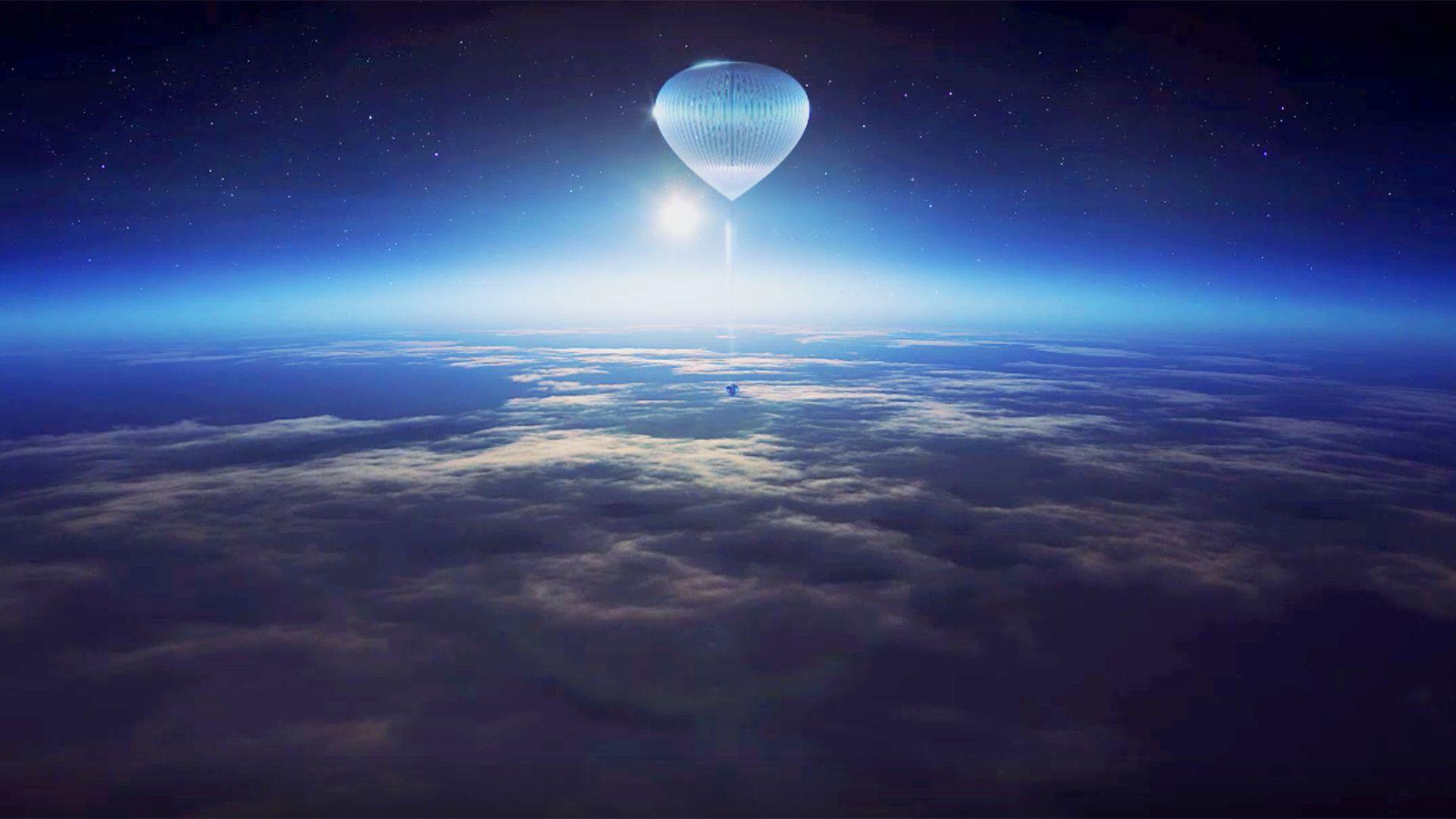 Hőlégballonnal utazhatunk a világűr szélére