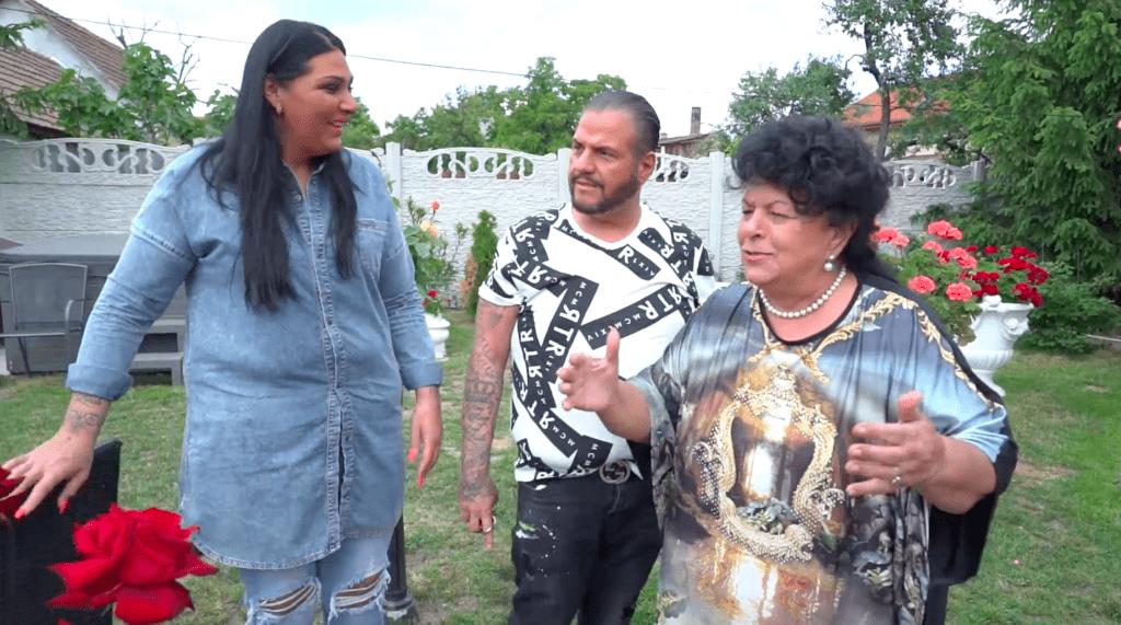 Bangó Margit, Jellinek Tina és Emilio