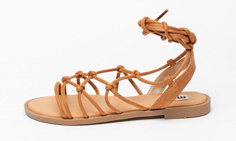 Barna bőr saru - MTNG - Fashion Days