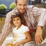 Benedek Tibor nagyobbik lánya, Ginevra az olasz származású feleségétől született