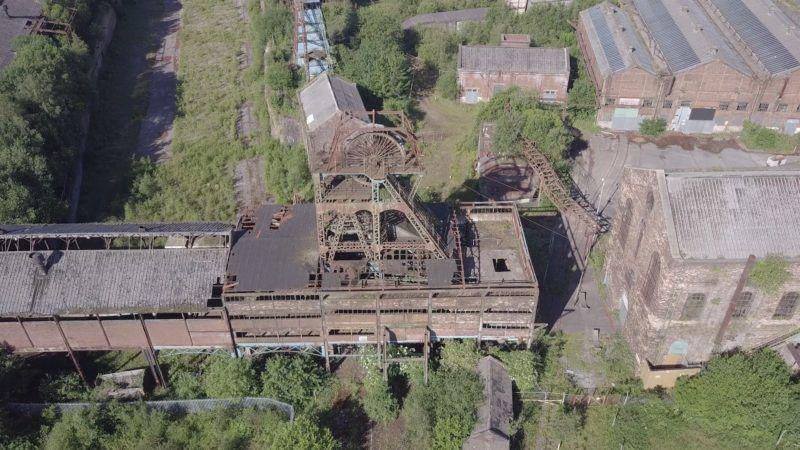 Elhagyatott szénbánya