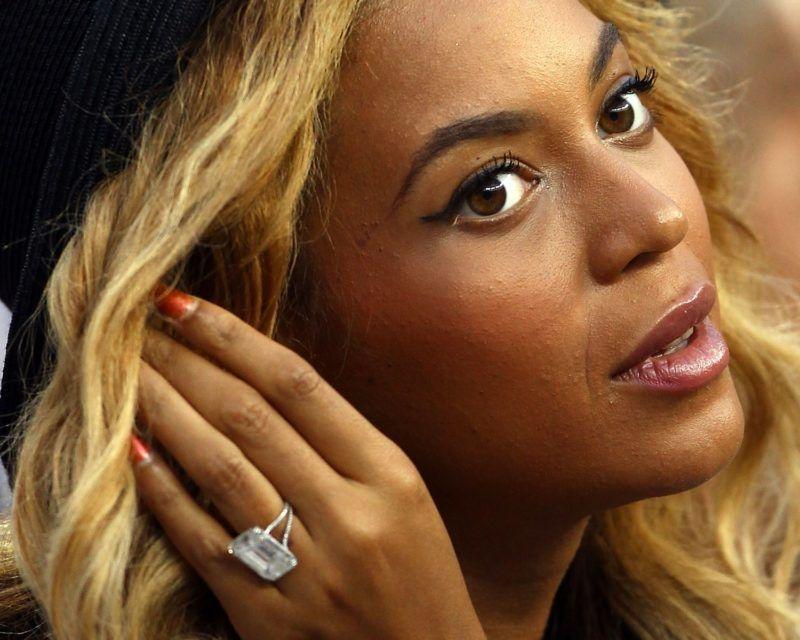 Beyoncé eljegyzési gyűrűje