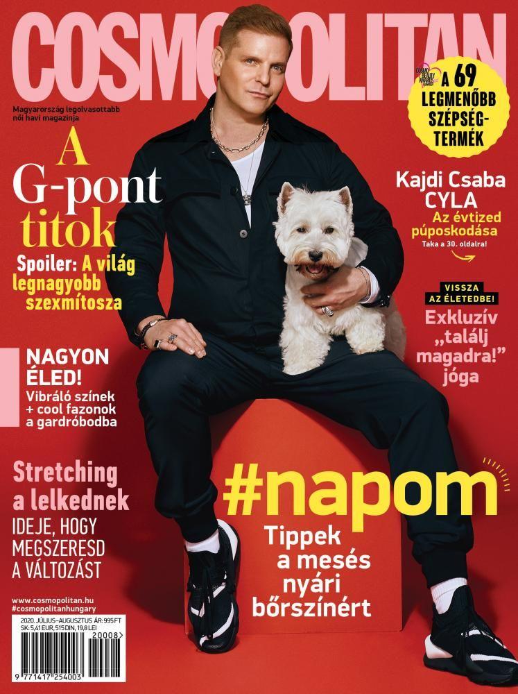 Az utolsó nyomtatott Cosmopolitan lapszám címlapja