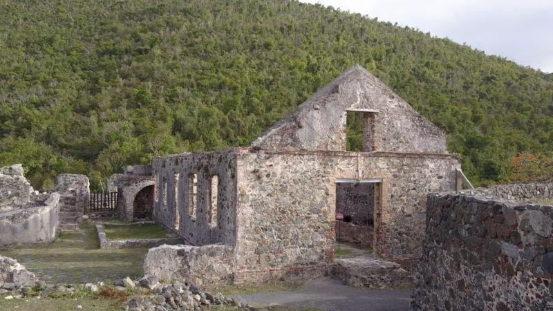 Lepusztult cukorgyár a XVII. századból