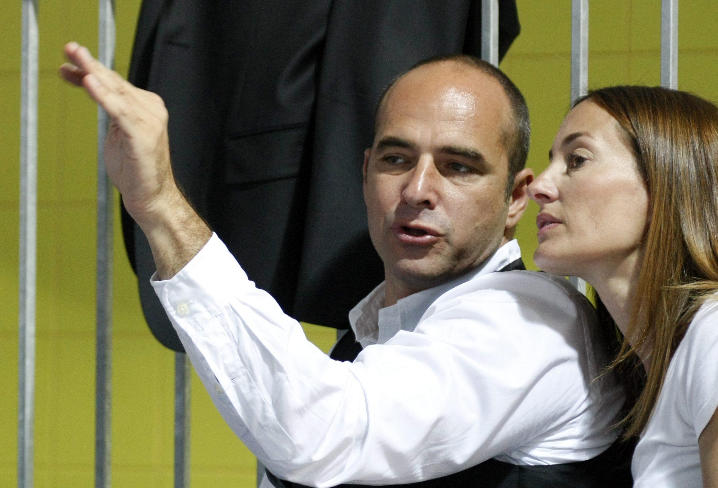 Benedek Tibor és felesége Epres Panni