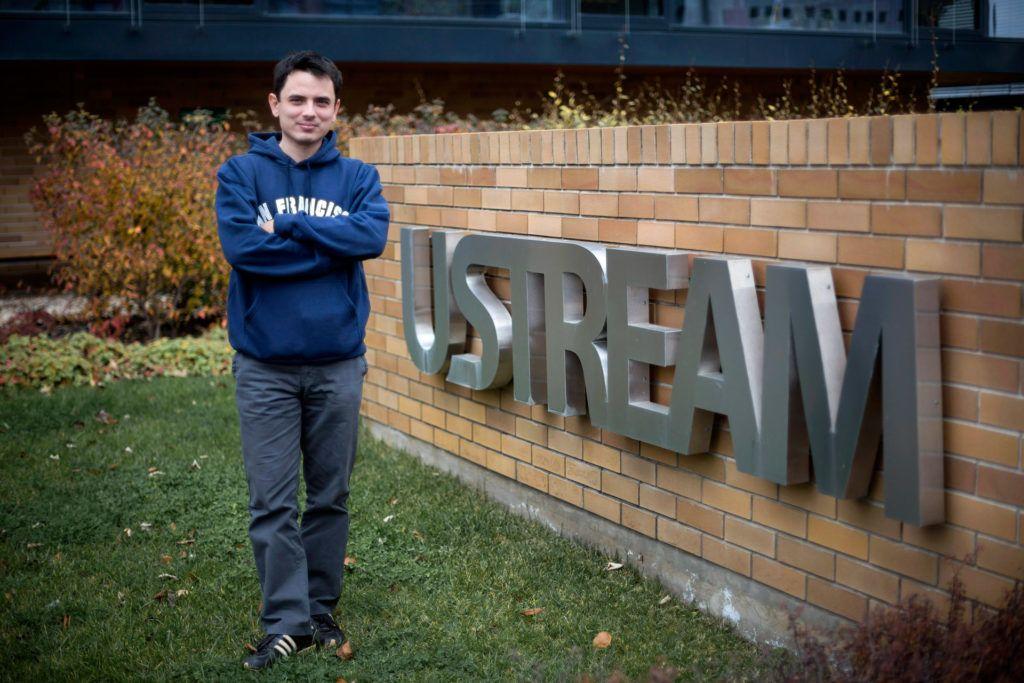 Fehér Gyula, a Ustream, Inc. társalapítója, 2012-ben a Graphisoft Parkban (MTI Fotó: Mohai Balázs)
