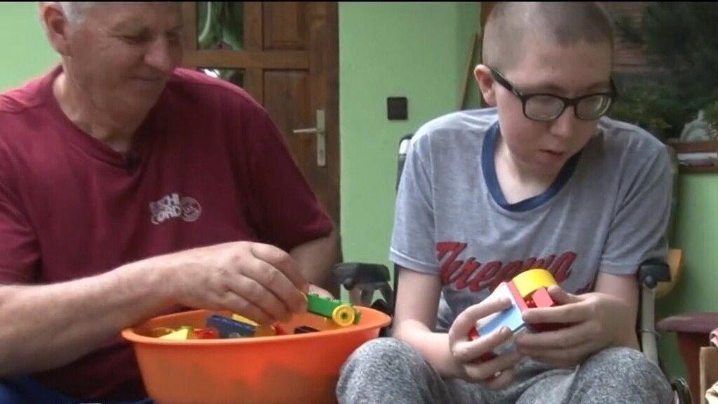 Nagyszülei küzdenek a cisztás fibrózisos Dominik életéért