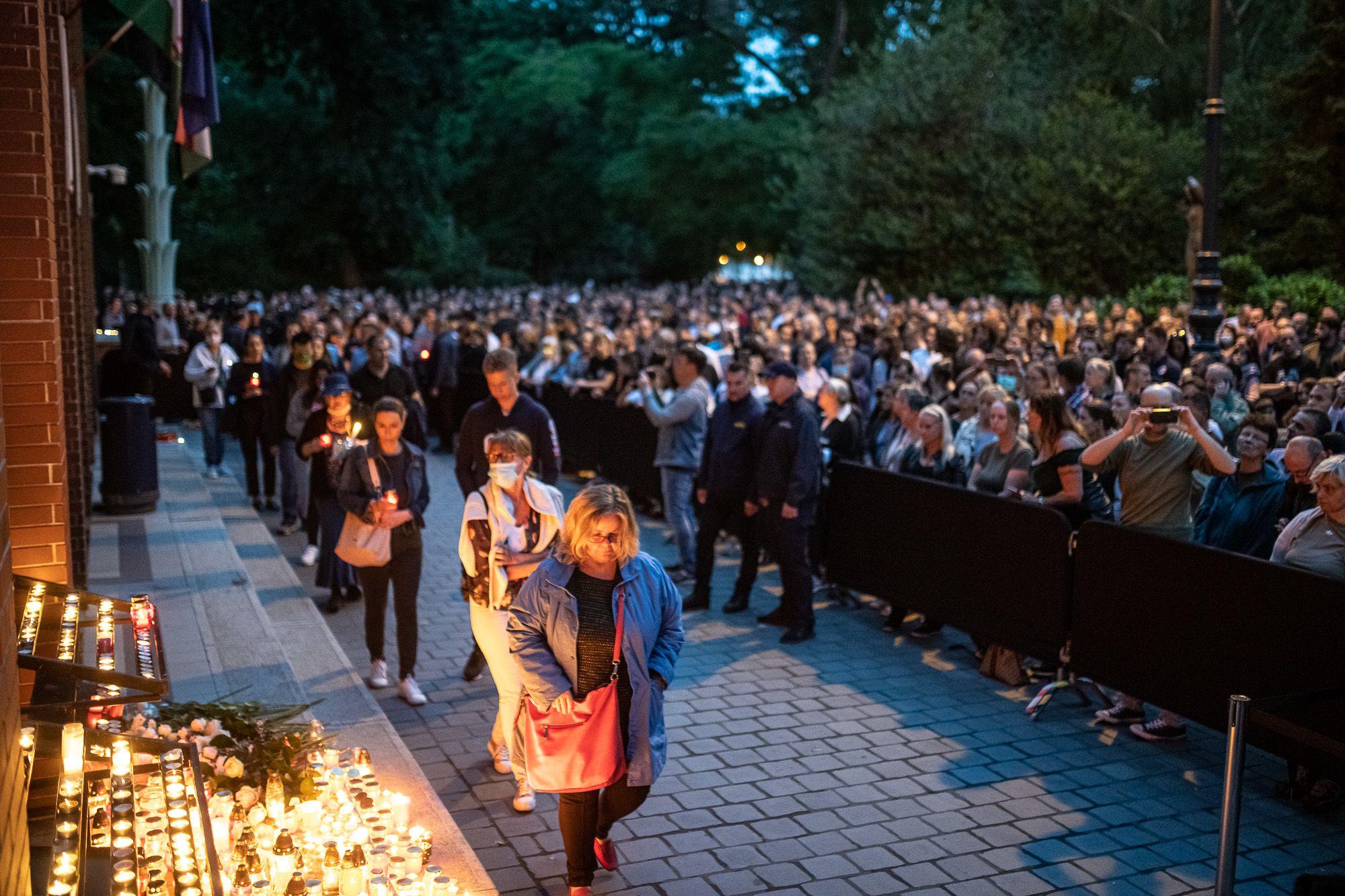 Több ezren emlékeztek Benedek Tiborra (fotó: Neményi Márton)