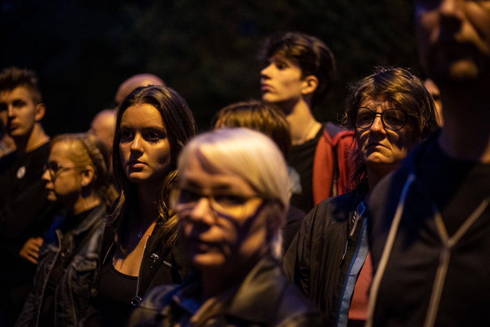 Arra kérték a közvéleményt és a sajtót, hogy tartsák tiszteletben a család gyászát (fotó: Neményi Márton)