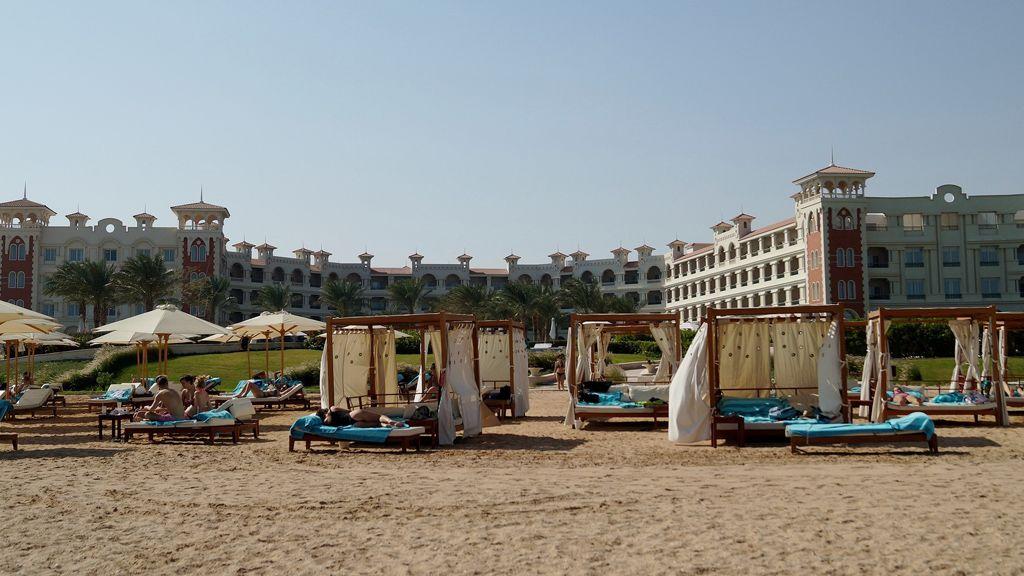 az egyiptomi hurghada tengerpartja