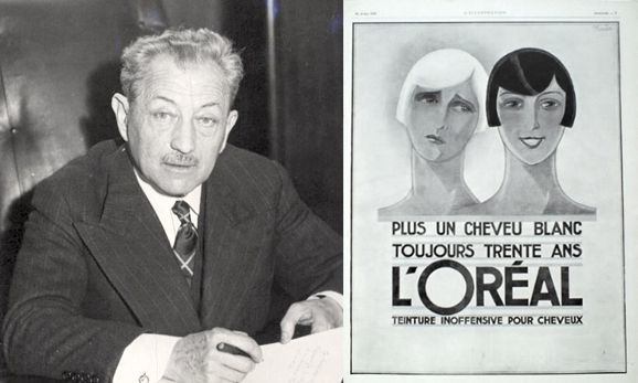 Eugene Schueller a L'Oréal atyja