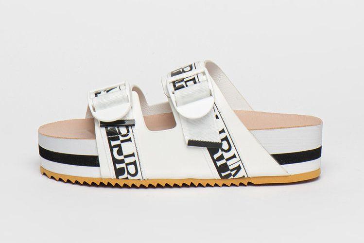 feliratos platform papucs - Napapijri - Fashiondays
