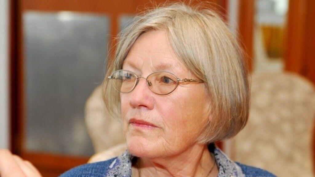 Földi Teri színésznő a Konyec című film bemutatóján.