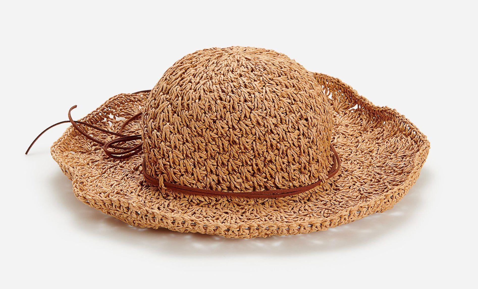 Fonott kalap pánttal - Reserved