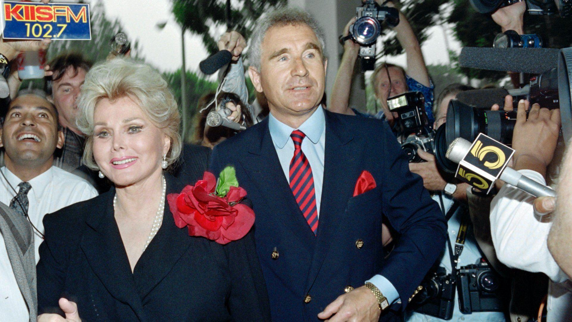 Gábor Zsazsa és férje, Frederick von Anhalt német herceg