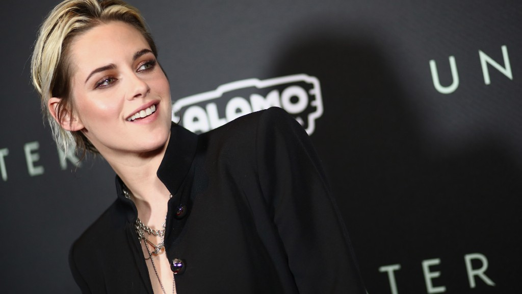 Kristen Stewart idén januárban, az Árok című filmjbe bemutatóján (fotó: Tommaso Boddi/WireImage)