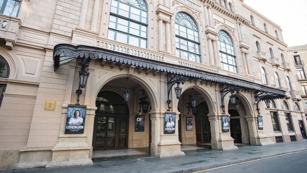A barcelonai Liceu operaház (