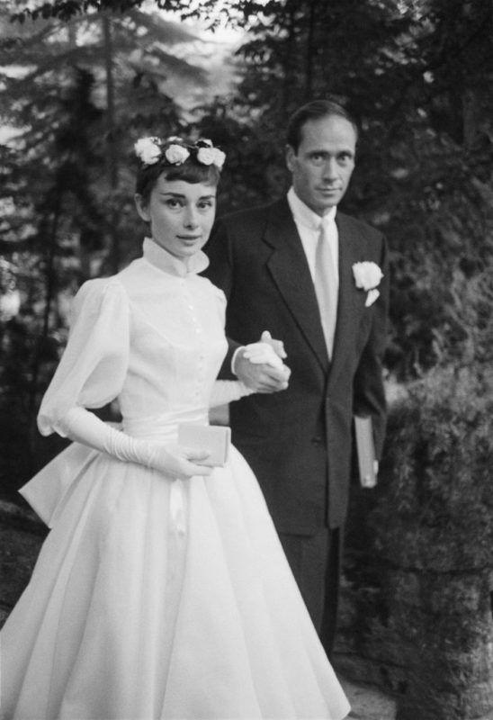 Audrey Hepburn esküvője