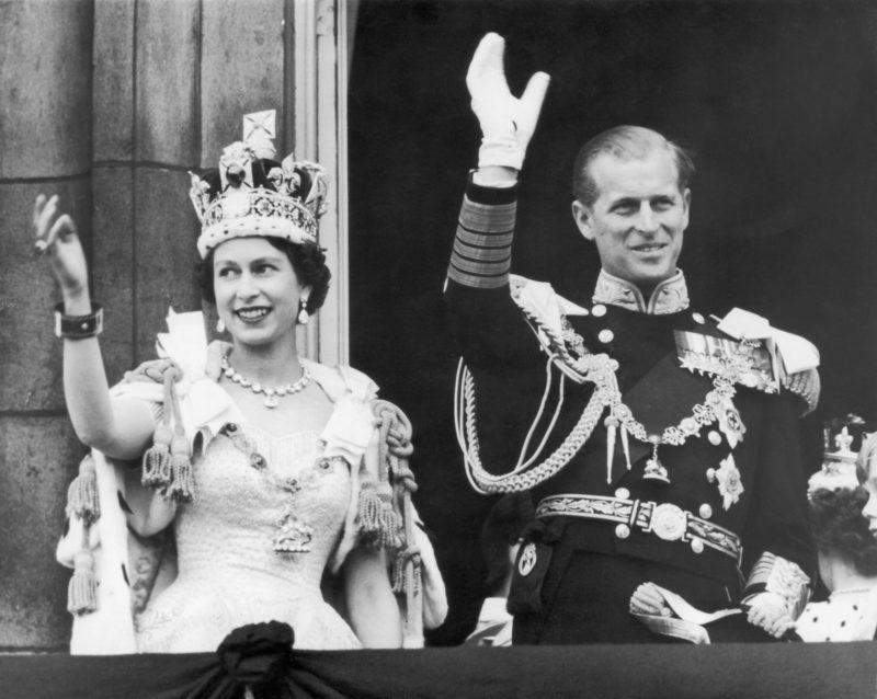 II. Erzsébet királynő és Fülöp herceg