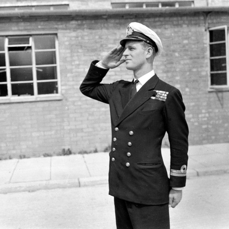Fülöp herceg a királyi haditengerészeti tisztek iskolájában