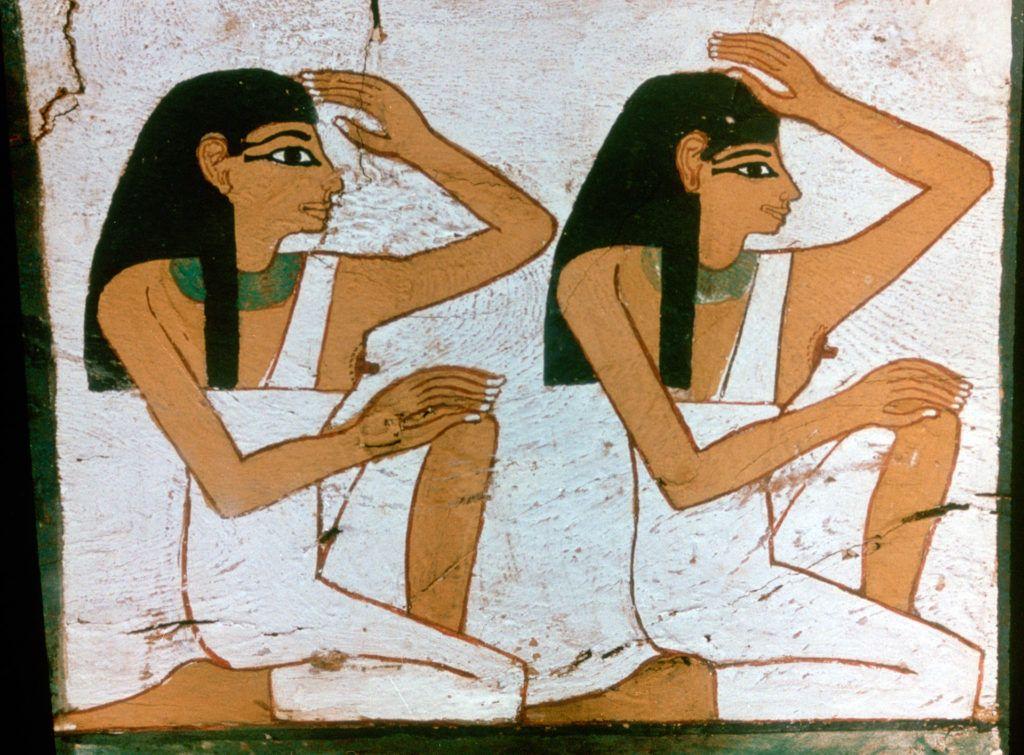 Az ókori egyiptomban állati vért is használtak az őszhajszálak elfedésére