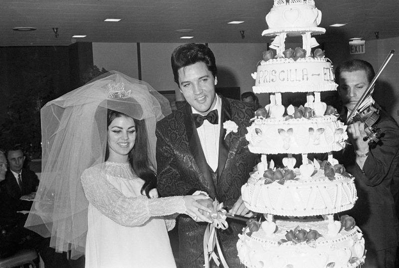 Elvis és Priscilla Presley esküvője
