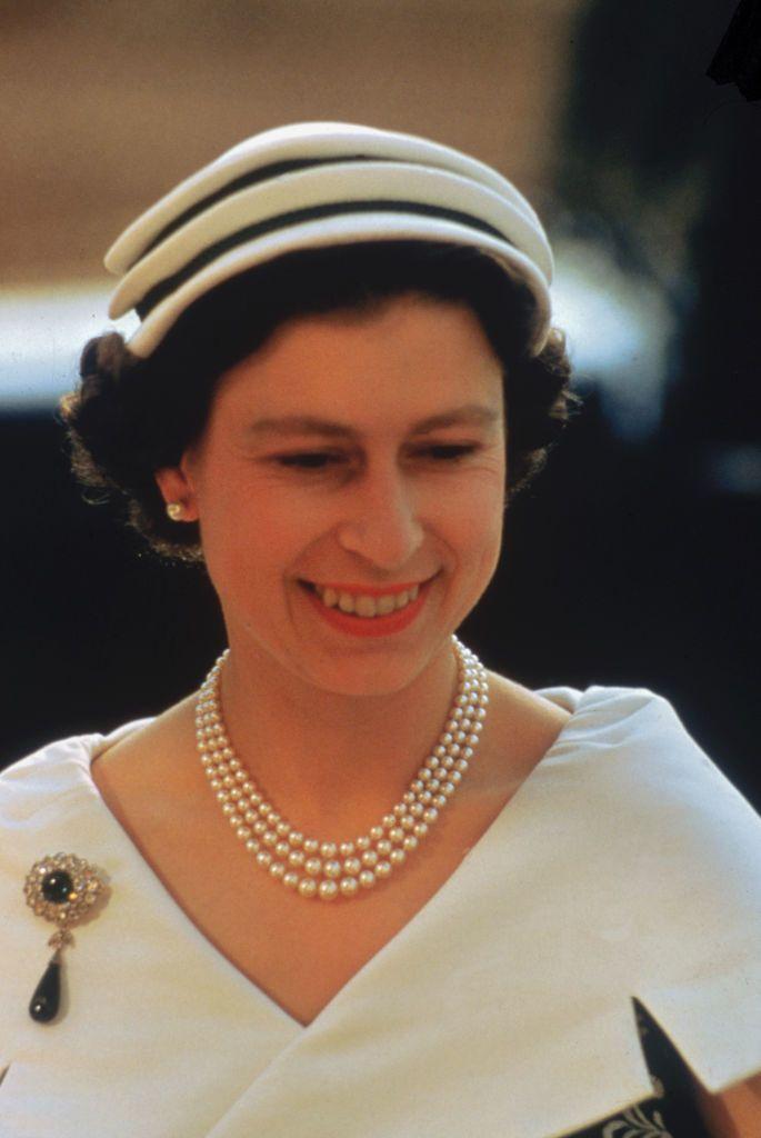 II. Erzsébet királynő 1956-ban