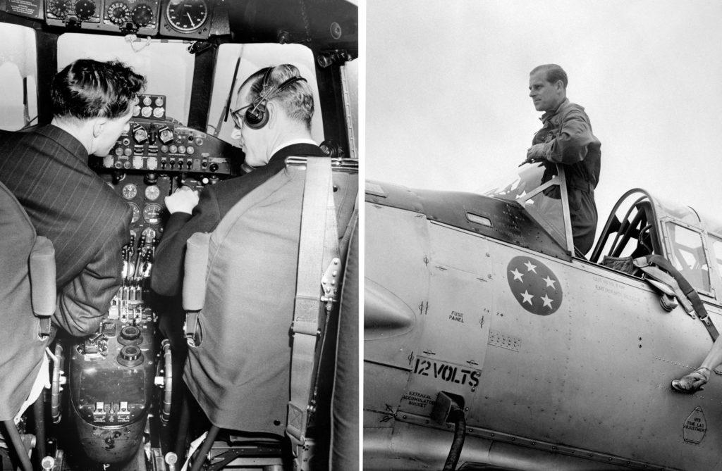 Fülöp herceg 59 különböző típusú repülőgépen közel 6 ezer órát repült pilótaként