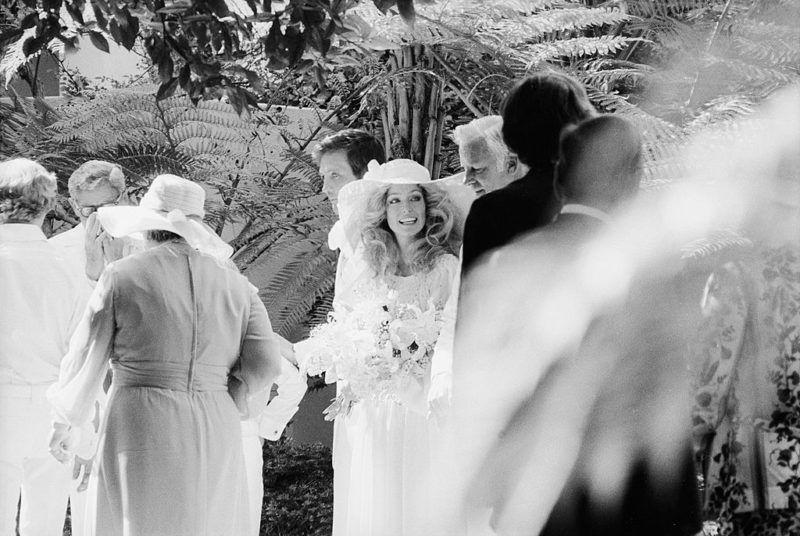 Farrah Fawcett esküvője