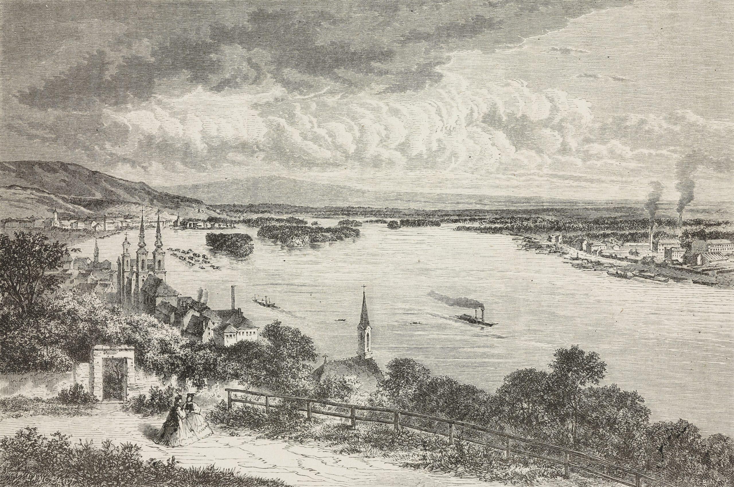 Dieudonne Lancelot: Buda és Pest (forrás: gettyimages)