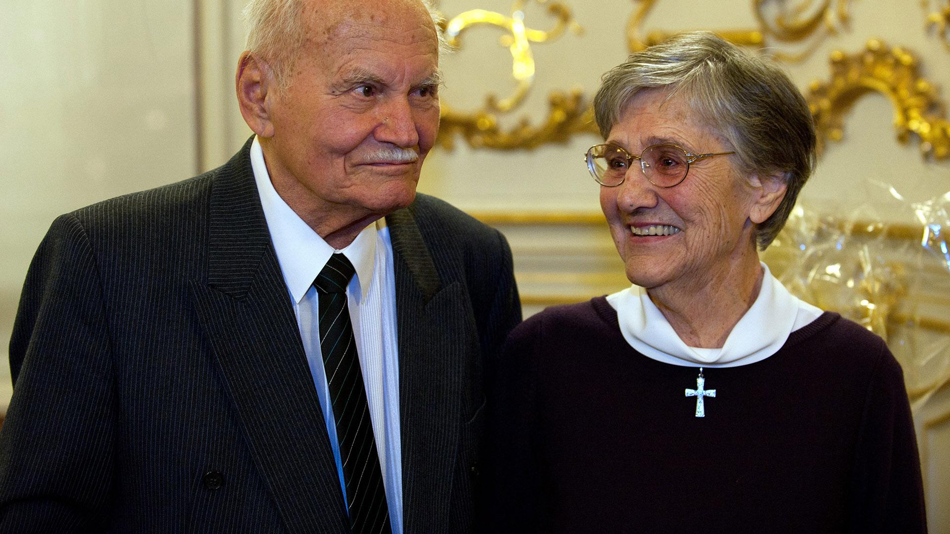 Göncz Árpád és Göncz Árpádné