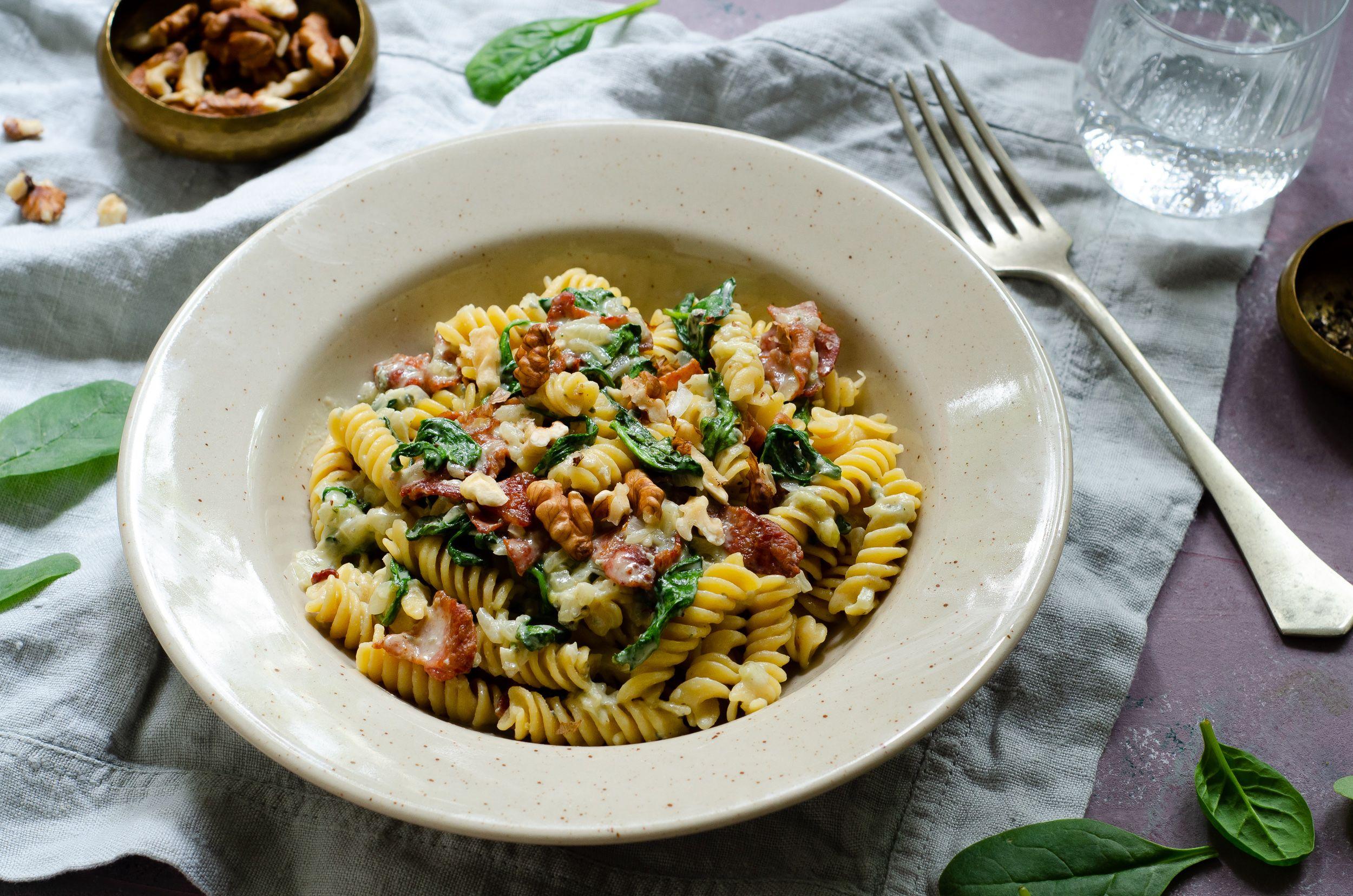 Gorgonzolás baconös légumio - Fotó: Bonduelle