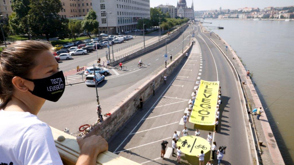 Légszennyezés Budapest Greenpeace