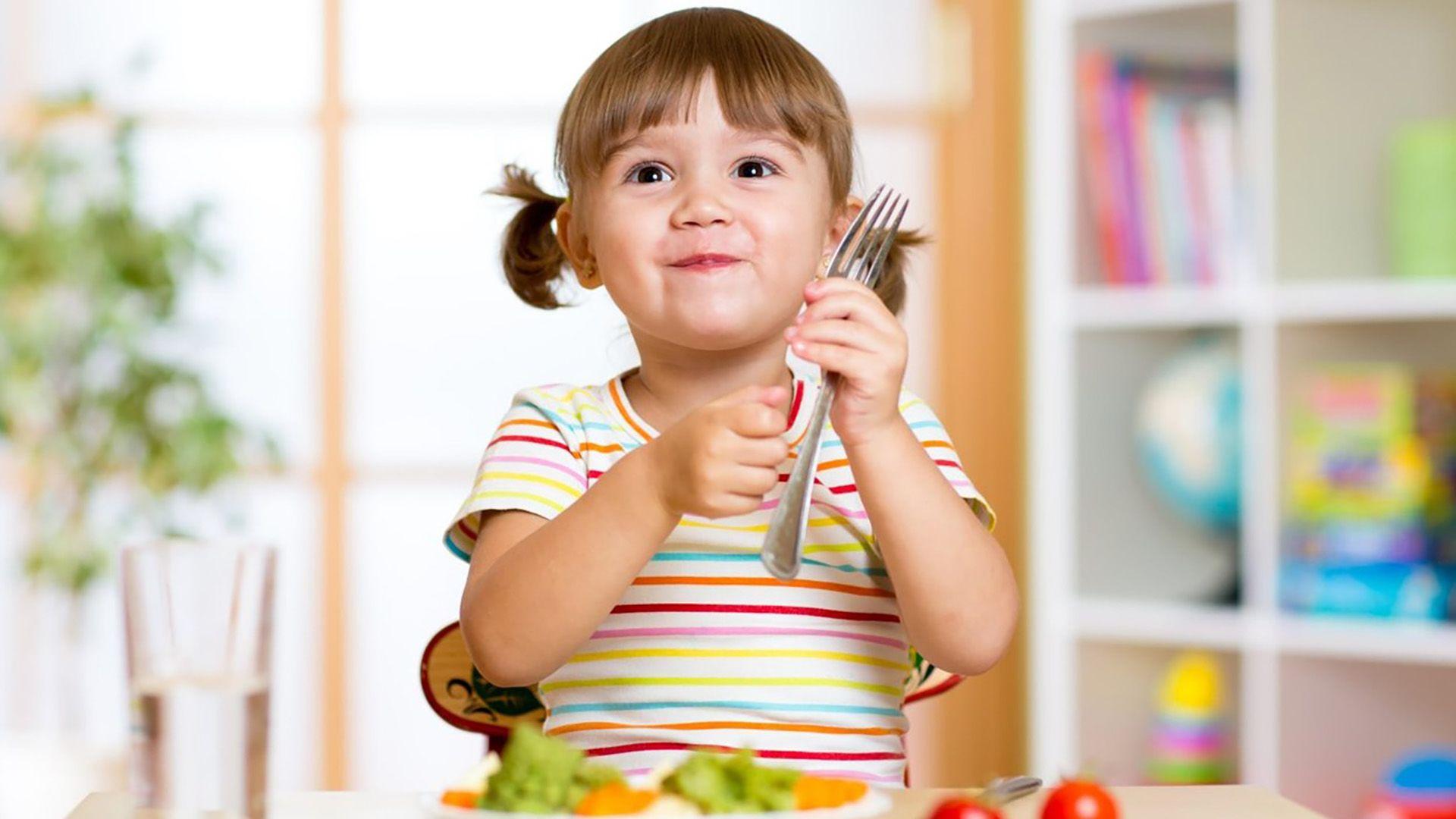 egészséges étkezés gyerek