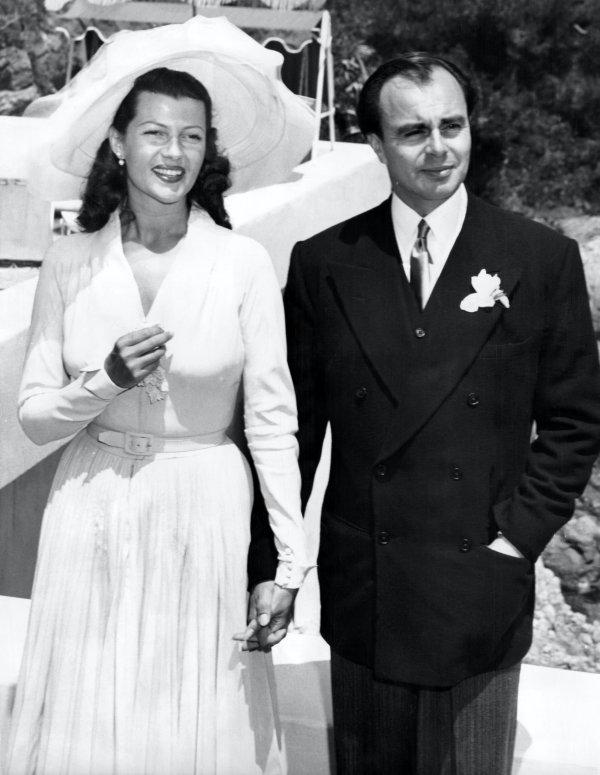 Rita Hayworth és Aly Khan pakisztáni herceg