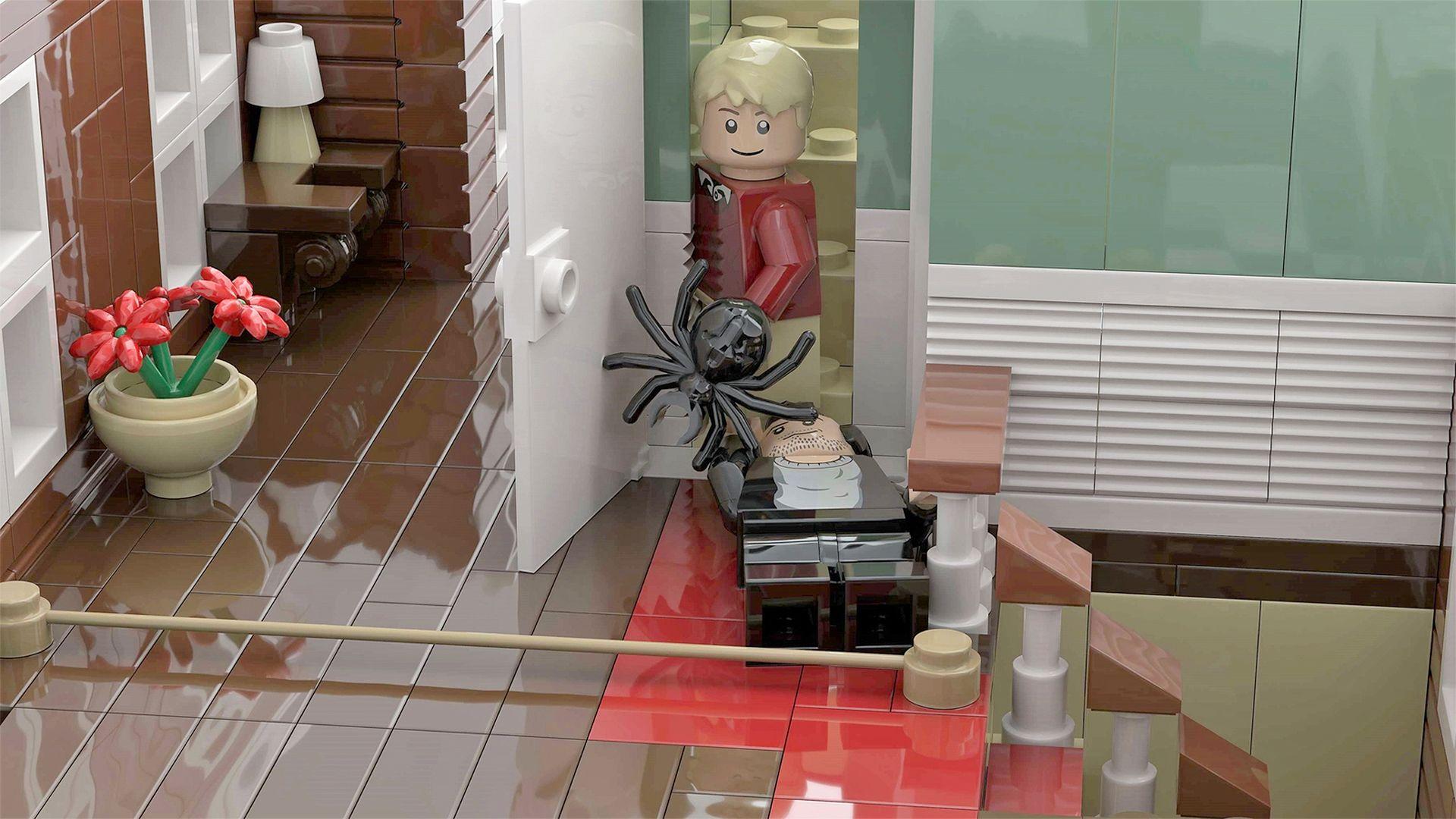 Karácsonyra érkezik a Reszkessetek betörők LEGO