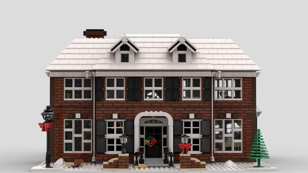 Így néz majd ki a Reszkessetek betörők LEGO-ház